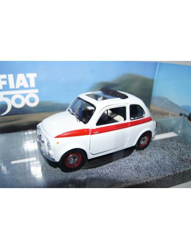 Fiat 500 D Clásico escala 1/24 (MONDO 51019). AUTO DIECAST MONDO 51019