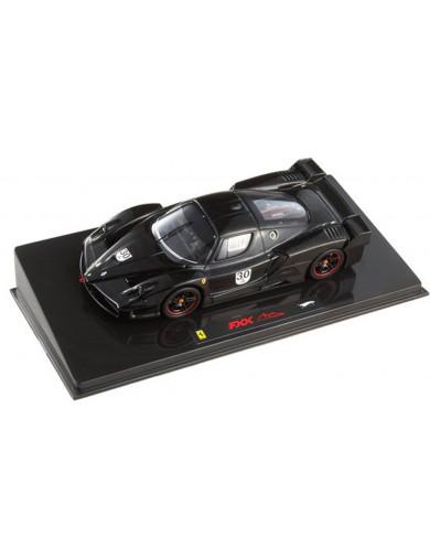 Ferrari FXX Negro N.30 Michael Schumacher. Coche Escala 1/43 (HOT WHEELS ELITE N5591) HOT WHEELS ELITE N5591