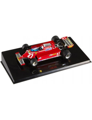Ferrari F1 126 CK (Gilles Villeneuve). Coche Escala 1/43 (HOT WHEELS ELITE P9945). Auto Diecast HOT WHEELS ELITE P9945