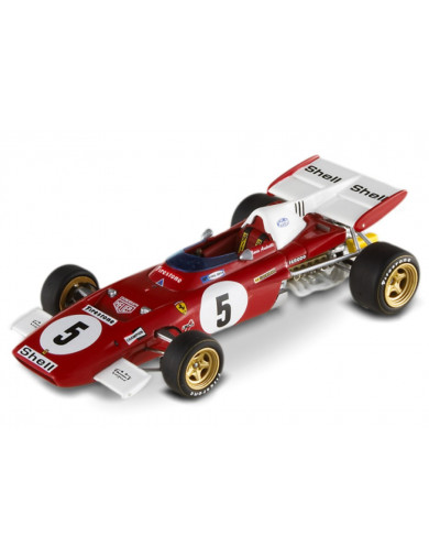 Ferrari F1 312 B2 1971. Coche Escala 1/43 (HOT WHEELS T6938). Auto Diecast HOT WHEELS T6938