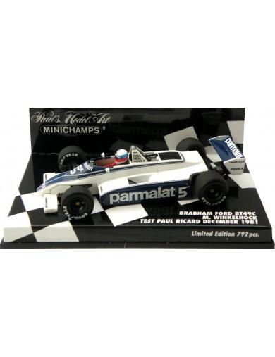 F1 Brabham BT49C 1981. Coche Escala 1/43 (MINICHAMPS 400810105). Auto Diecast MINICHAMPS 400810105
