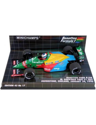 F1 Benetton Ford B188. Coche Escala 1/43 (MINICHAMPS 400890219). Auto Diecast MINICHAMPS 400890219