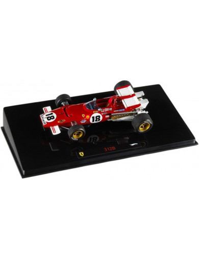 Ferrari F1 312 B 1970. Coche Escala 1/43 (HOT WHEELS N5588). Auto Diecast HOT WHEELS N5588