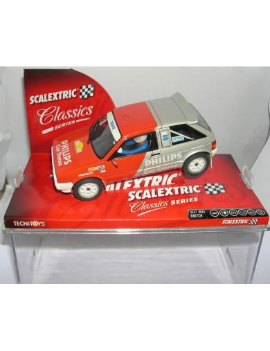 Seat Ibiza Bimotor, Coche SCALEXTRIC (6307). SLOT CAR SCALEXTRIC 6307