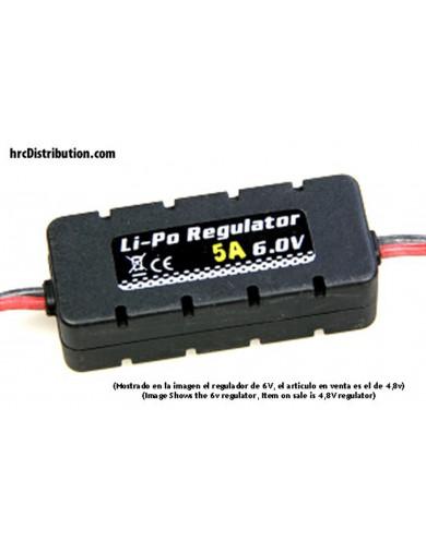 Regulador BEC a 4,8V, para Baterías LiPo 2S CY401421 Conectores, Cables y Adaptadores RC