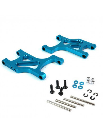 Trapecios Inferiores Traseros Aluminio Tamiya DF-01 (YEAH RACING DF01-002BU). Aluminum Rear Lower Arm YEAH RACING DF01-002BU ...