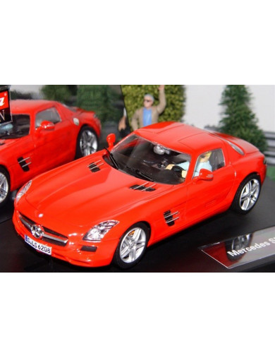 Mercedes SLS AMG Coupe, Coche de Slot (CARRERA 27344). Slot car CARRERA 27344