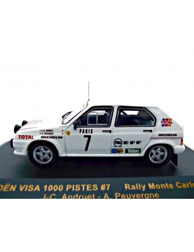 Citroen Visa 1000 Pistes. Coche Escala 1/43 (IXO RAC111). Auto Diecast IXO RAC111