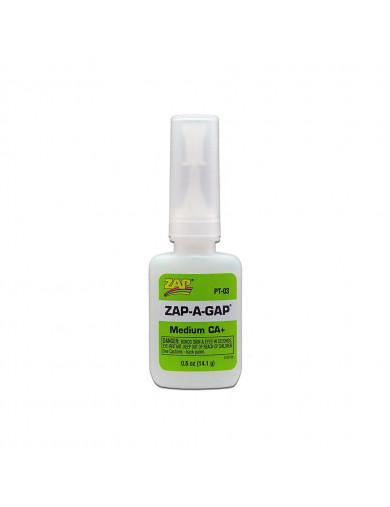 Ciano ZAP-A-GAP 14gr Medio (ZAP PT03) ZAP PT-03 Aceites, Siliconas, Pegamentos, Limpiadores...
