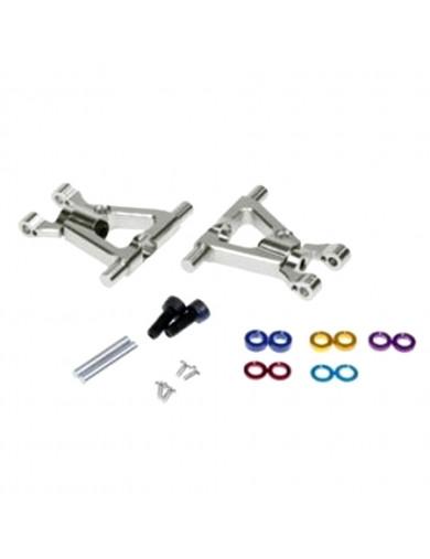 Trapecios Traseros Aluminio TAMIYA TT01 Con Ajuste de Caida / Camber (EMC3624) EMC3624 Recambios TAMIYA TT01, TT02