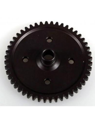Corona Central 48 Dientes (HOBAO 87338). Steel Spur Gear 48T Hobao 87338 Recambios Hobao